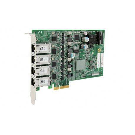 Carte d'acquisition Gigabit PCIe-PoE4+