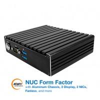 Mini PC fanless JBC420U591-3160-B