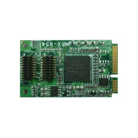 Carte Mini PCI Express 4 x Com (RS232)