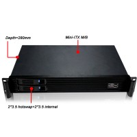 Rack 1.5U Mini-ITX N1528R